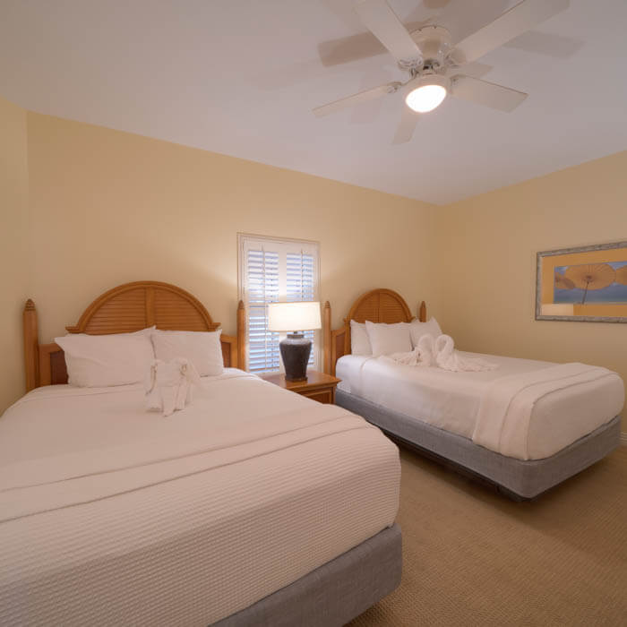 Captiva Villa One-Bedroom suite with two queen beds